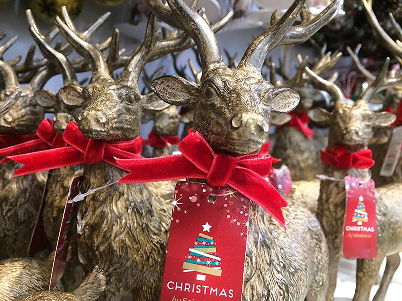 Christmas Reindeer in store